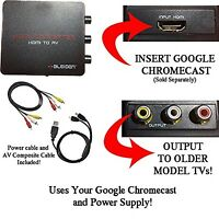 Hdmi Converter For Google Chromecast: Use Chromecast With Older Tvs That Have...