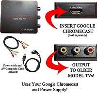 Hdmi Converter For Google Chromecast: Use Chromecast With Older Tvs That Have...