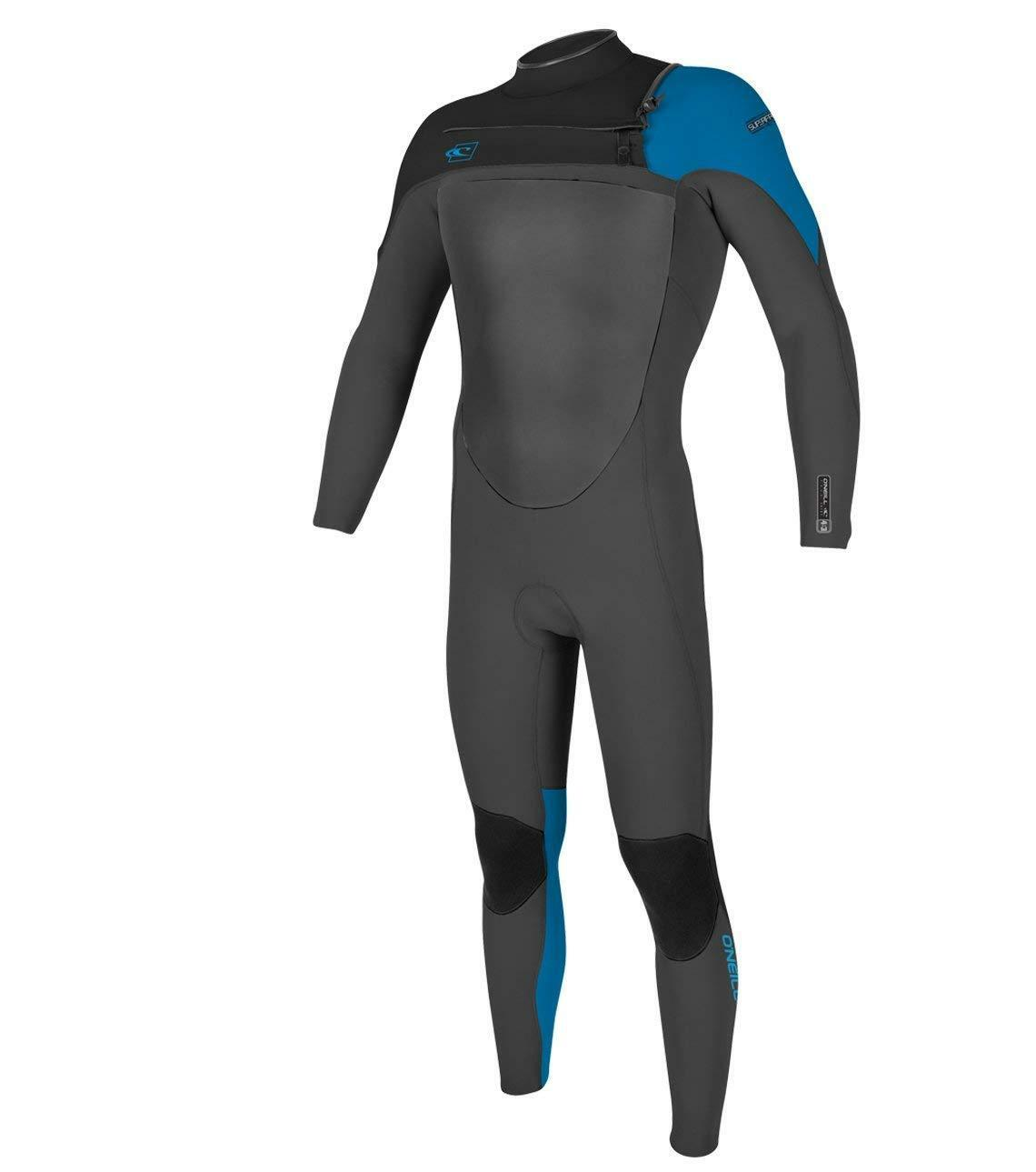 O'NEILL Youth 4 3 SUPERFREAK FZ Wetsuit - Graph Blk Brtbluee - Size 10 - NWT