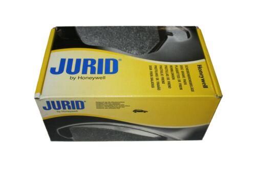 Jurid Plaquette de frein avant pour Audi 100 a4 b5 s4 a6 c4 c5 a8