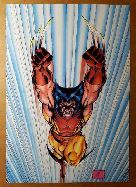 Wolverine X-Men Marvel Comics Poster by Jim Lee