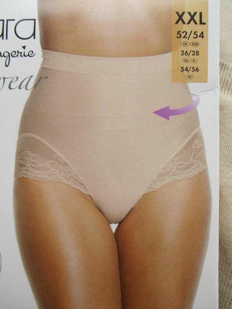Taillen Miederhose XL 44 46 48 50 L Weiß Ecru Bauchweg Shape Form-Slip Spitze !!