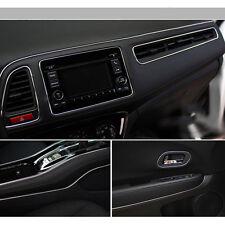 SILVER 10M FLEXIBLE TRIM FOR CAR INTERIOR EXTERIOR  STRIP MOULDING DECORATION