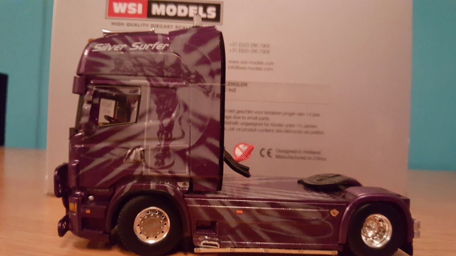WSI SCANIA R6 TOPLINE 4X2 tracteur échelle 1.50