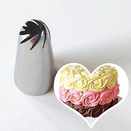 Blume Vereisung Rohrleitungen Tipps Düse Cupcake Dekor Gebäck Backen