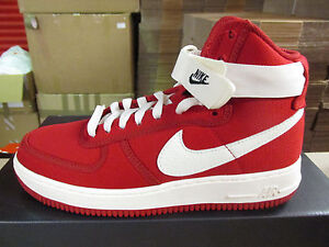 nike air force 1 high top red