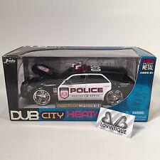 Jada 1/24 Dub City Heat Police Die Cast 2006 Dodge Magnum R/T Hemi Car Sealed