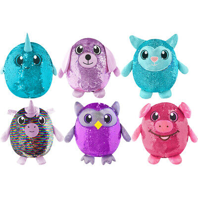 Shimmeez Medium Reversible Sequin Soft Toy CHOICE OF CHARACTER ONE SUPPLIED   eBay