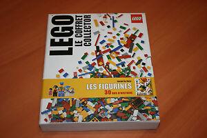 LEGO le coffret COLLECTOR inclut le livre LES FIGURINES 30 ans dhistoire NEUF