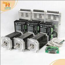 Freewantai Nema34 Stepper Motor Cnc Kit1700oz12nm 6a 14mmshaftampdq860mapower