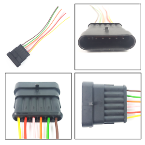 image is loading extension-plug-wiring-harness-loom-6-pin-connector