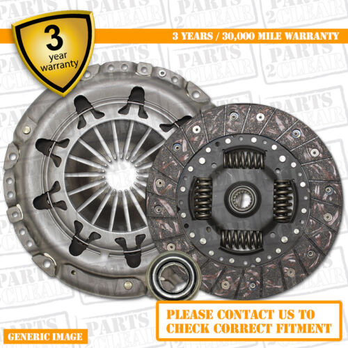 3 Part Clutch Kit with Release Bearing 250mm 9980 Complete 3 Part Set