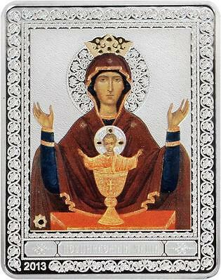 neupivaemaya Chalice,russia Holy 2019 Fashion 2013 Cook Is Large Silver Color Proof $5