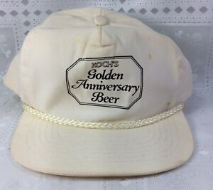 Vintage-Koch-s-Golden-Anniversary-Beer-Hat-Snapback-Adjustable-Breweriana