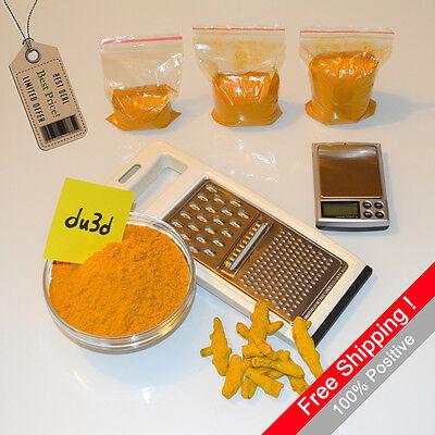 100% Curcuma Longa Curcumin Turmeric Root Powder 50g 100g 150g 200g 250 500g 1kg