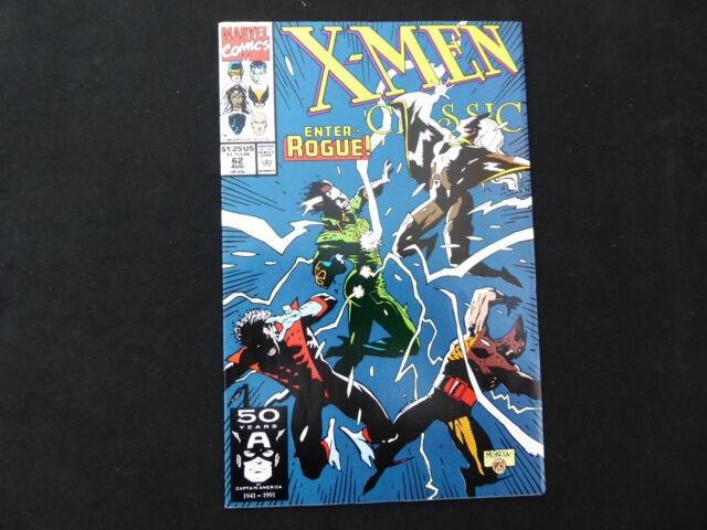 Classic X-Men #62 (Aug 1991, Marvel)