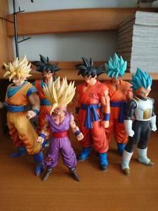 Dragon-Ball-Figure-Goku-Gohan-Vegeta-Super-Saiyan-Lot-of-6-Bundle-Sale