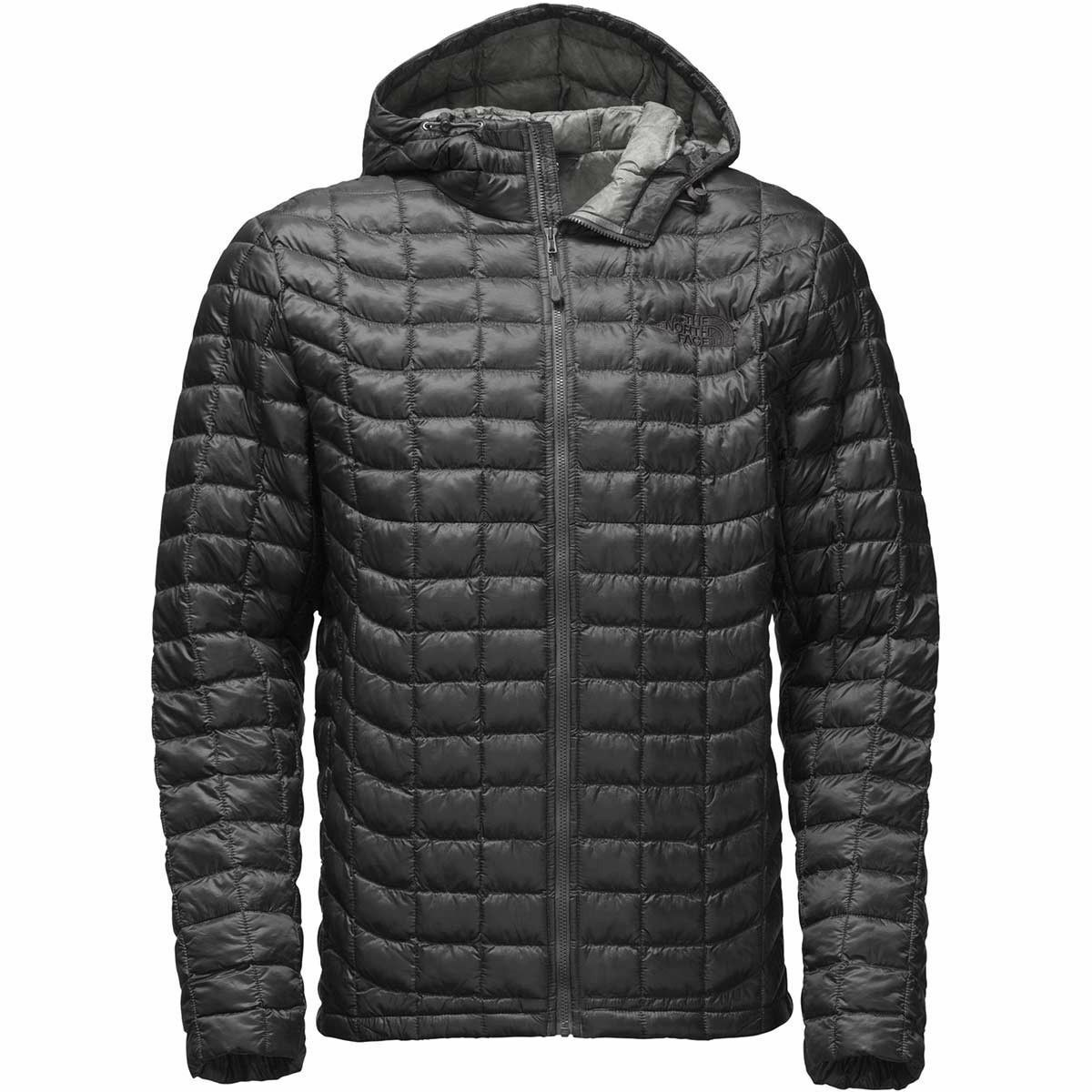 NWT  Herren Grau The North Face ThermoBall Insulated Hoodie Größe X- Large Free Ship