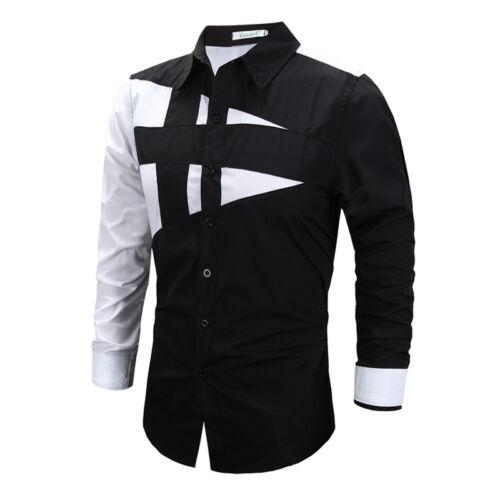Herren Hemd Hemden Bügelleicht Business Hochzeit Freizeit Langarm Slim Fit Bluse