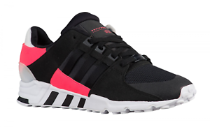 buy popular b3bf0 10533 Image is loading Mens-ADIDAS-EQT-SUPPORT-RF-Black-Running-Trainers-