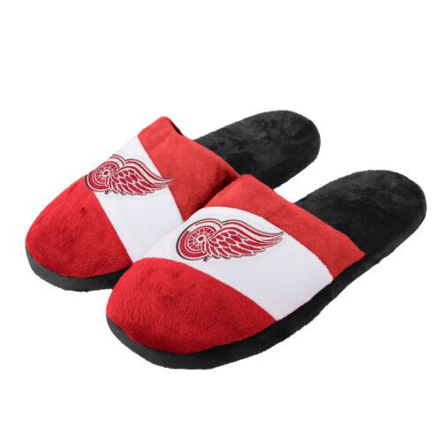 Mens Detroit Red Wings Colour Block Slide Slipper