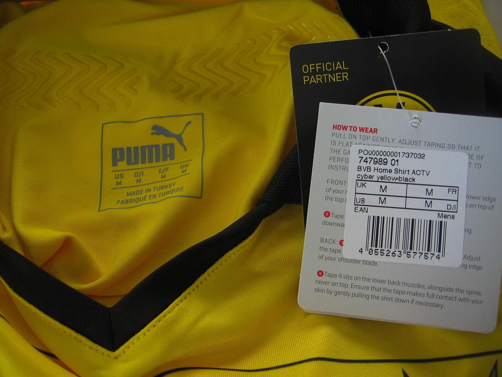 Borussia Dortmund BVB Authentic Trikot Puma 15/16 15/16 Puma f7368a