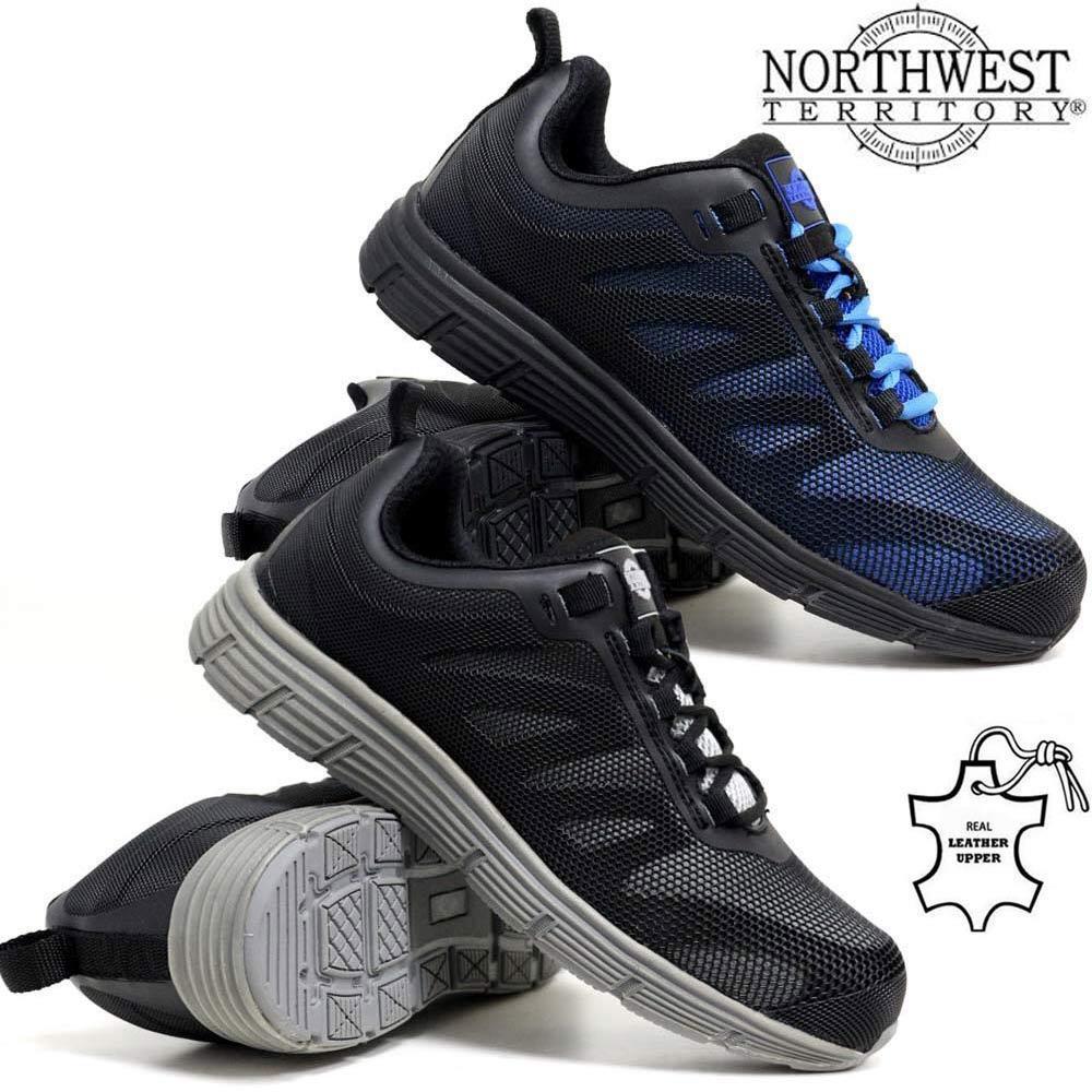 ULTRA pour homme léger en acier orteil casquette sécurité travail baskets chaussures bottes en cuir