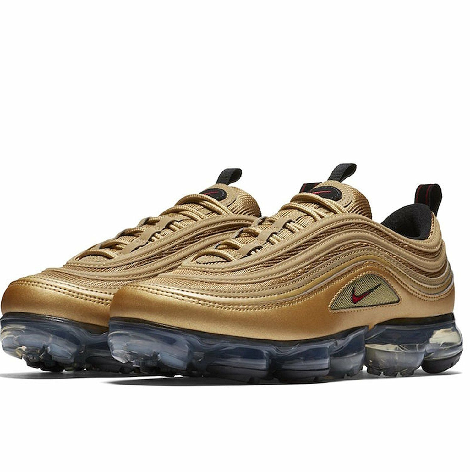 nike air vapormax '97 metallisches gold 700) / uni rot (aj7291 700) gold f70137