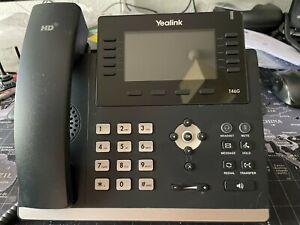 YEALINK t46g PoE telefono voip con Bluetooth Dongle-refururbished -