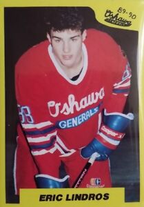 1989-90-7th-Inning-Sketch-OHL-Oshawa-Generals-Team-Set-1-23-Lindros-HKC-103