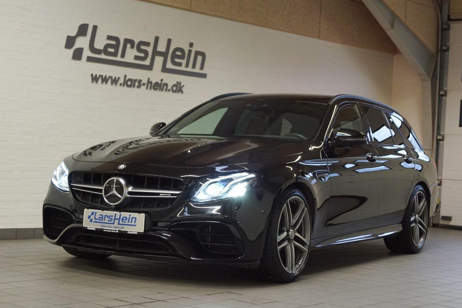 Mercedes E63 4,0 AMG S stc. aut. 4-M+ 5d - 1.499.800 kr.