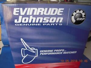 13.2 Johnson//Evinrude//OMC New OEM Prop 14 x19 Pitch Propeller 765184; 0765184