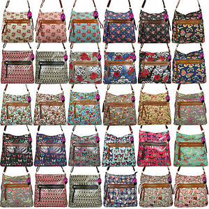 Handbag Large A4 Across Cross Body Bag Long Adjustable Shoulder ... c55b5b5353