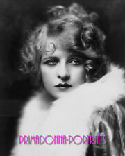 DOLORES COSTELLO 8X10 Lab Photo 1920s Sultry Haunting Fur Silent Era Portrait