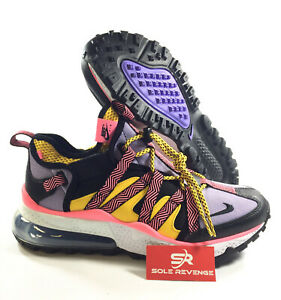 designer fashion 0f97a 8a1c7 Details about New NIKE AIR MAX 270 BOWFIN - MEN'S J7200004 Black/Atomic  Violet/Amarillo c1