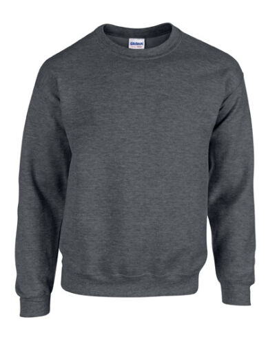 Gildan Crewneck Sweatshirt div Farben S-XXL Doppelnähte weich Basic G18000