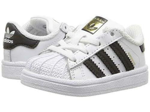 Adidas Superstar I BB9076 White Black Infant Toddler Baby Girls Boys Shoes Sizes