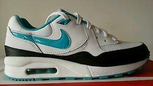 Nike-Air-Max-1-Light-Black-White-Green-Emerald-N-38-5-Limited-Edition-Okksport