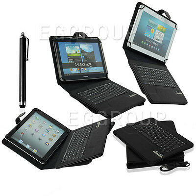 """Detachable Universal Wireless Bluetooth Keyboard Case For 9""""-10.1"""" inch Tablet"""