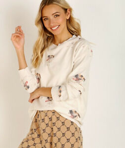 NWT-Women-039-s-All-Things-Fabulous-Jack-Terrier-Cozy-Sweater-Size-S