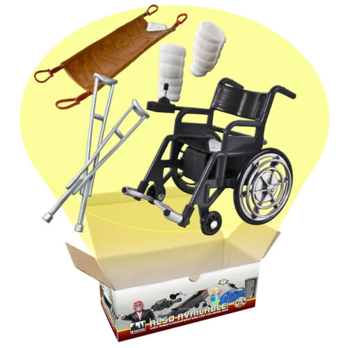 DELUXE Fauteuil roulant//blessure offre spéciale Playset Pour WWE Wrestling figures