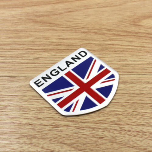 Britain//Italy//France//Germany Flag Logo Metal Car Motorcycle Sticker Tail Emblem