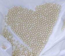 500 Perlen perlmutt champagner creme Hochzeit Wachsperlen 8mm Perle