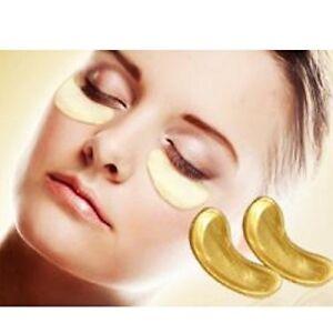 24K Gold Eye Masks Crystal Collagen Anti-wrinkle Hydrating Puffy Eyes x 10