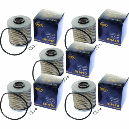 5x SCT Ölfilter SH 410 Oil Filter