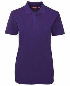 NEW-Ladies-Polo-Shirt-210-Casual-Polo-JBs-8-10-12-14-16-18-20-22-24-JB-039-s-Wear