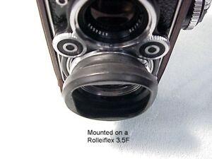 Rollei-Rolleiflex-Bay-II-2-zusammenklappbar-rubber-hood-shade-Nizza-OEM-59
