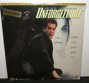 UNFORGETTABLE RAY LIOTTA NEW SEALED DELUXE LETTER BOX EDITION LASER DISC