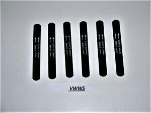 Hosco-Nero-Dado-Lime-W-Magnetic-Holder-Chitarre-Elettriche-9-Thru-42-Vwws