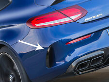Mercedes C205 AMG C63 C Class Coupe AMG Line Rear Bumper Spoiler Flics